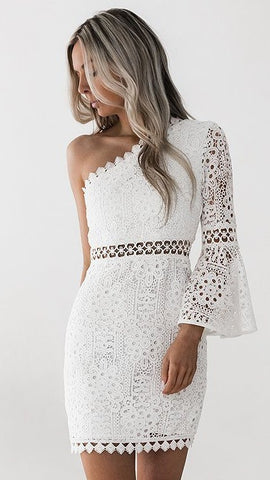 Elysian Dress - White