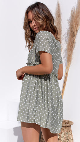 Kandie Dress - Sage