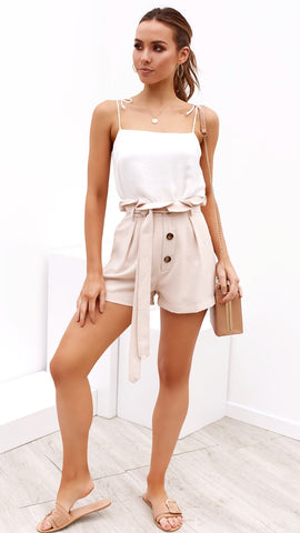 Liliana Short - Beige