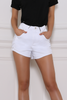 Razor Denim Shorts - White