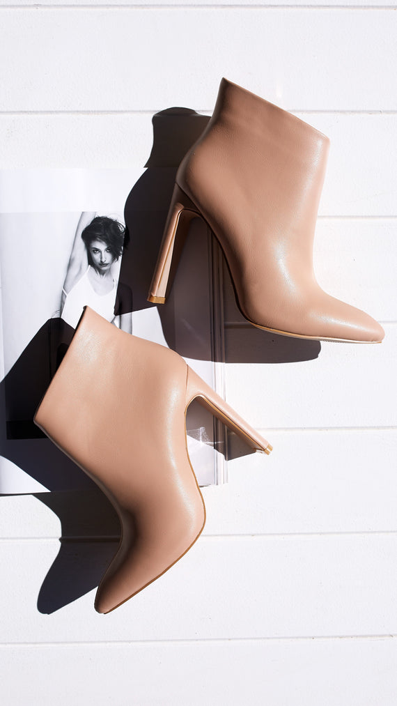 Enya Ankle Boot - Light Taupe