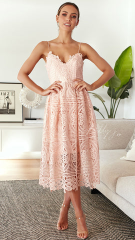Dreaming of You Dress - Blush