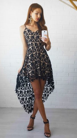 Electra Lace Dress - Black