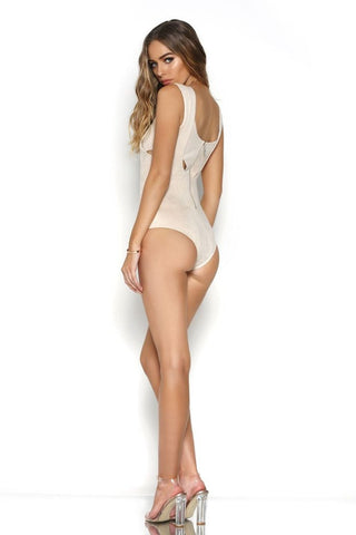 Breakeven Bodysuit - Sand