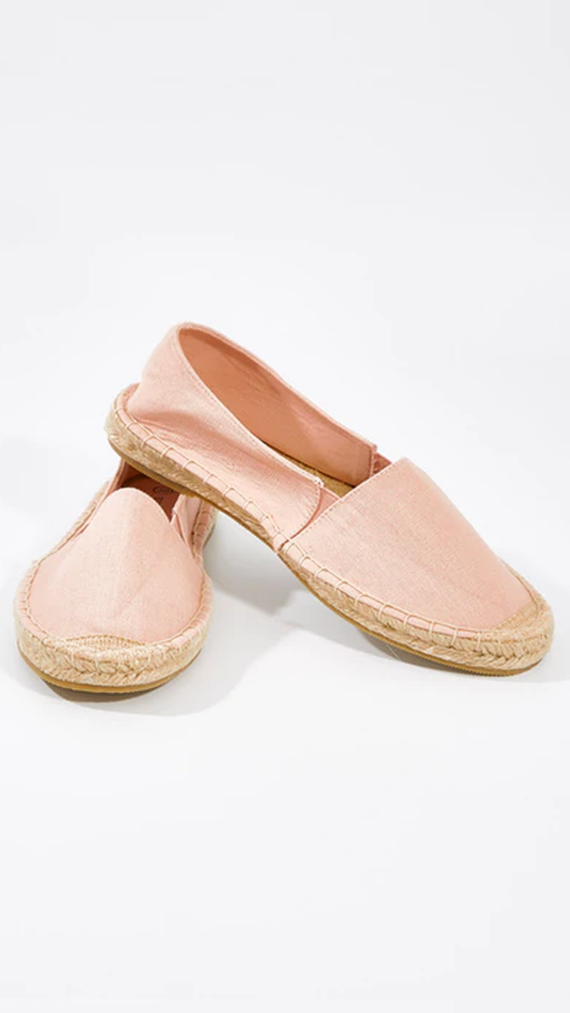 Vacation Espadrille Pull On - Blush