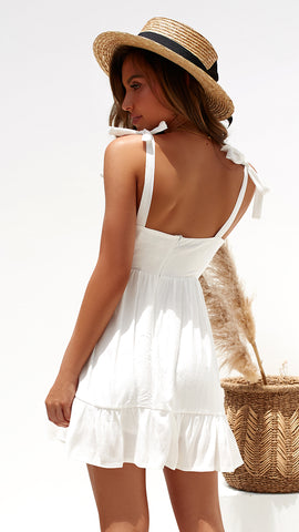 Amore Dress - White