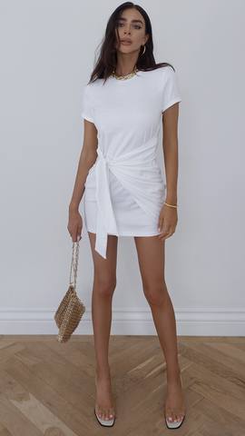 Winnie Dress - White