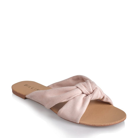 Comino Flats - Blush Suede