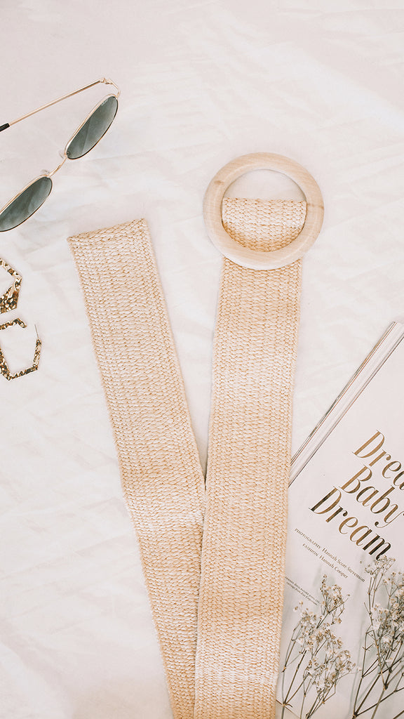 Maldives Belt - Cream