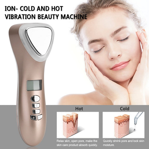 Ultrasonic Cryotherapy Face Slimming Device