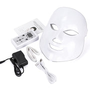LED Facial Mask Light Therapy Device
