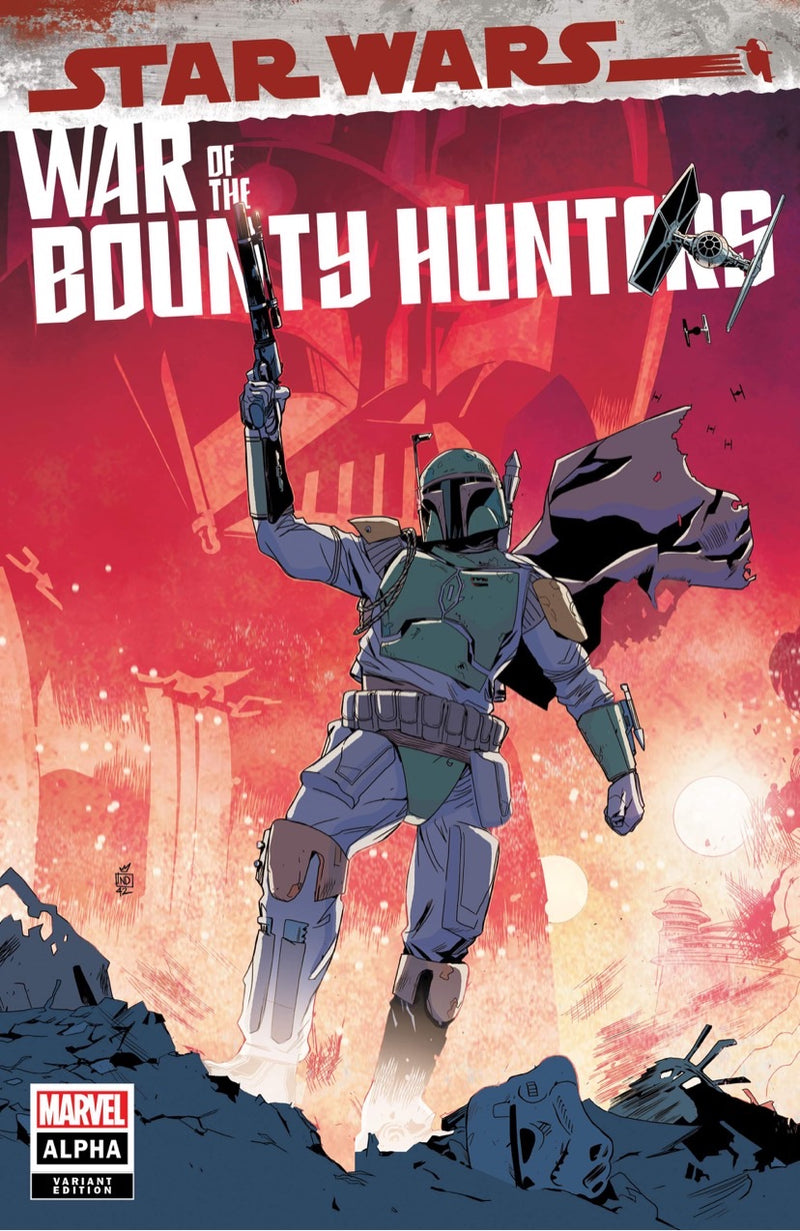 Star Wars War Of The Bounty Hunters-Trade Dress Stefano Landini Variant - The Comic Book Dealer