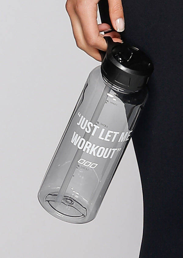 Let Me Workout Water Bottle-WATER BOTTLES-LORNA JANE-Believe Active