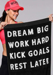 Dream Big Towel, TOWELS, LORNA JANE, Believe Active