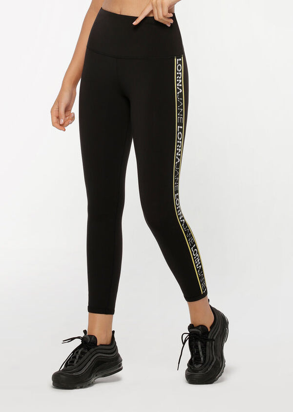 High Rise Logo Ankle Biter Leggings