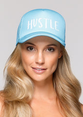 Hustle Trucker Cap-VISORS & CAPS-LORNA JANE-Believe Active