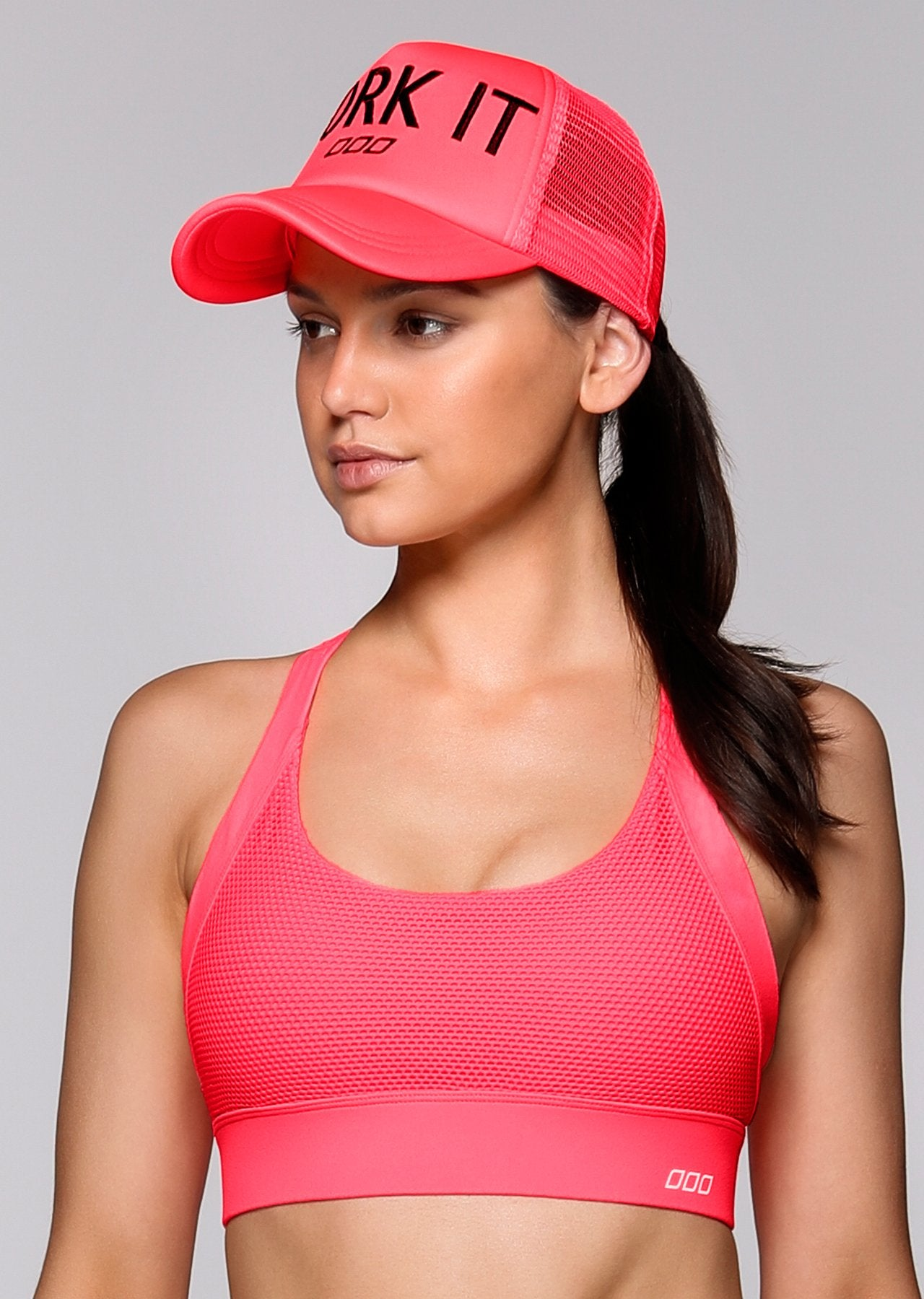 LJ Active Cap-VISORS & CAPS-LORNA JANE-Believe Active