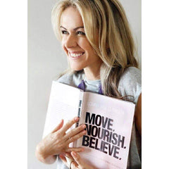 Move Nourish Believe Paperback-BOOKS-LORNA JANE-Believe Active