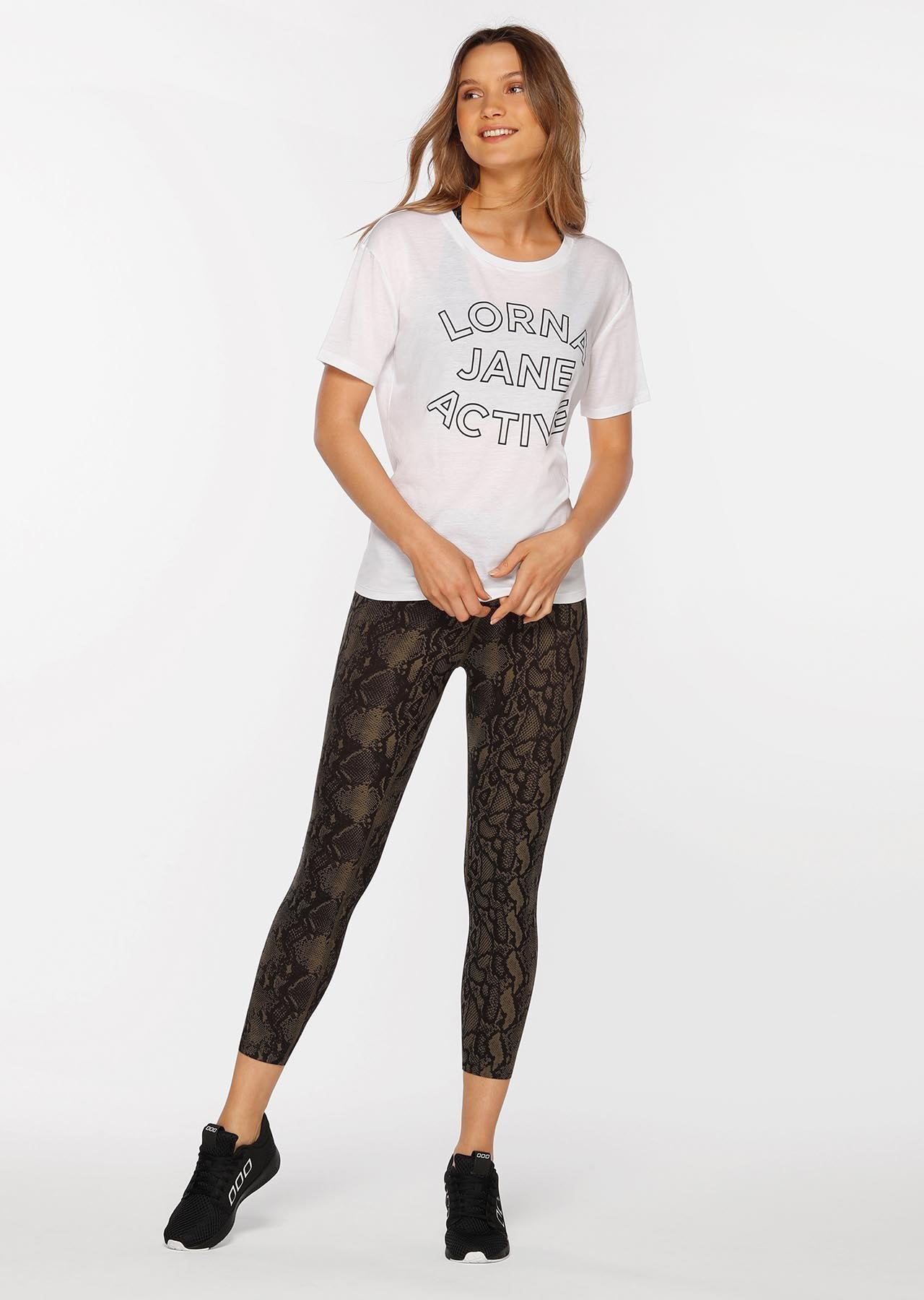 All Day Comfort Tee-TOPS-LORNA JANE-Believe Active