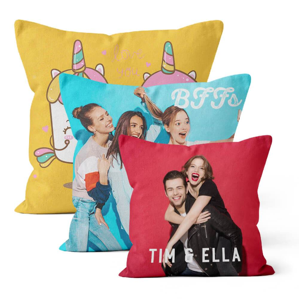 Custom Indoor Photo Pillows