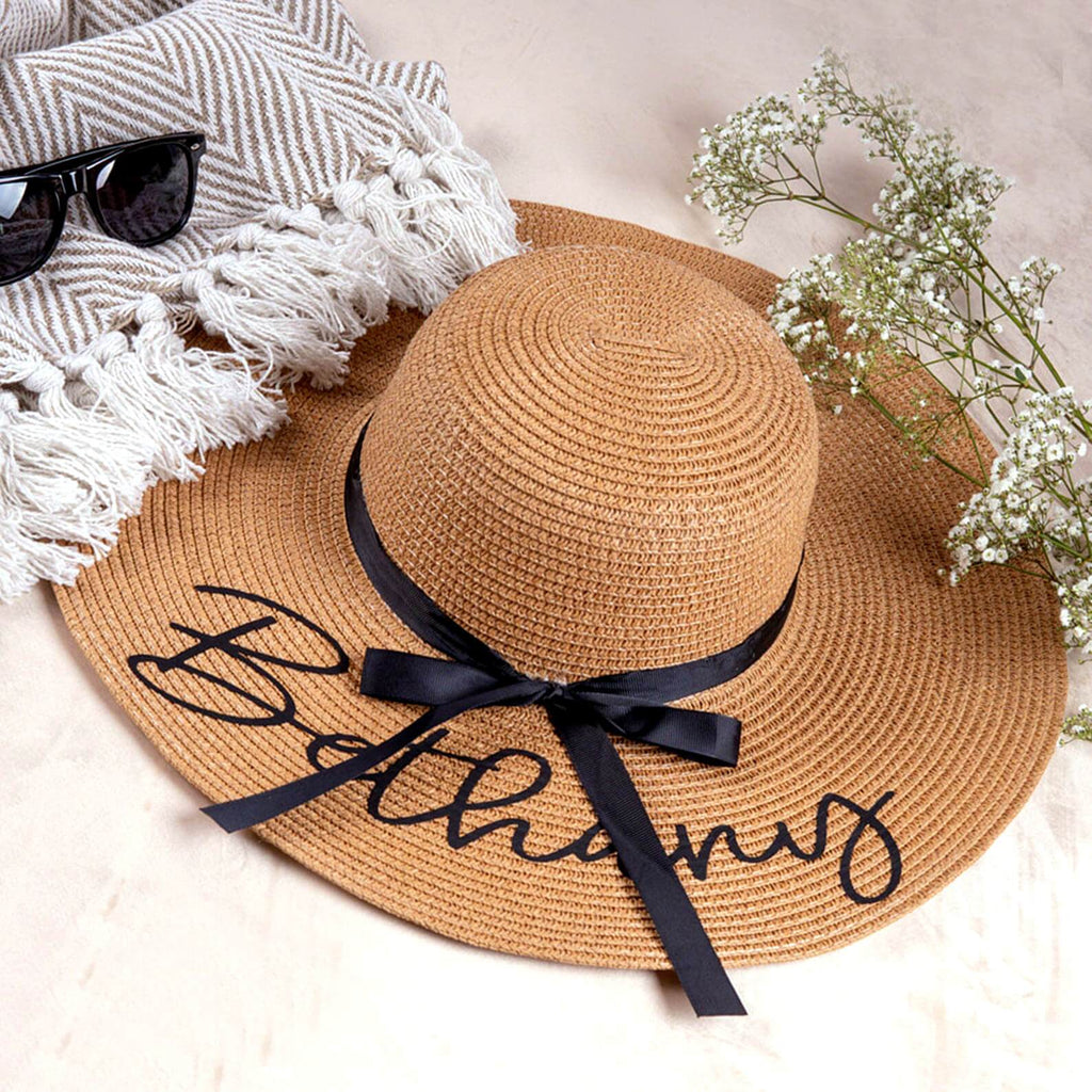 Custom Embroidery Floppy Beach Hat