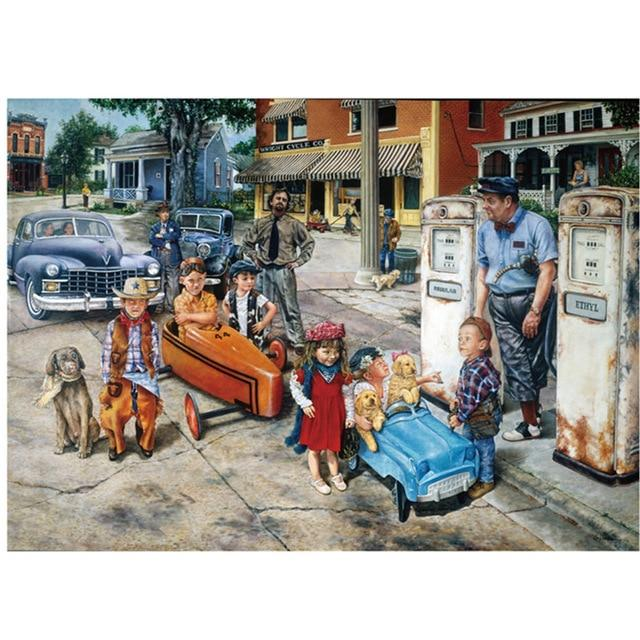 Hot Sale Puzzle 1000 Pieces Adult Puzzle Jigsaw, Kids on Streets - Puzzlemanic