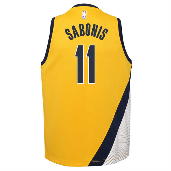 Youth Indiana Pacers Domantas Sabonis Statement Swingman Jersey