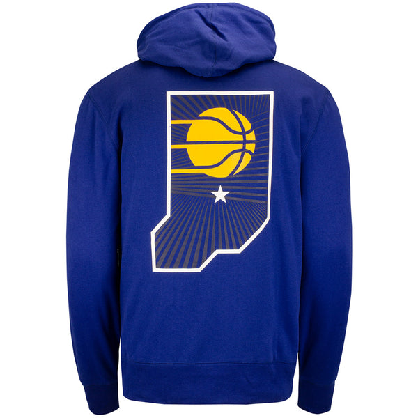 Indiana Pacers City Edition State Icon Hooded Fleece