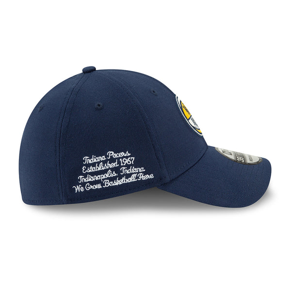 Indiana Pacers 19-20 New Era 39Thirty Fitted Draft Hat