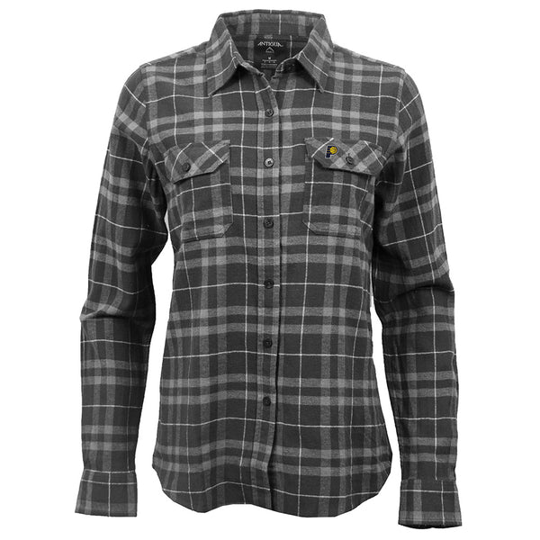 Women's Indiana Pacers Plaid Button Up
