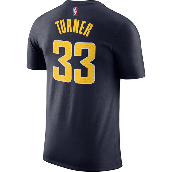 Indiana Pacers Turner Name & Number Nike T-Shirt