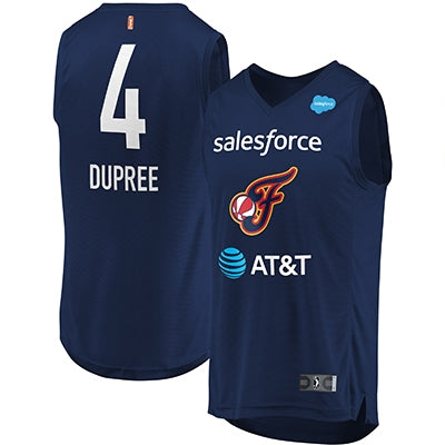 Indiana Fever Dupree Replica Swingman Jersey