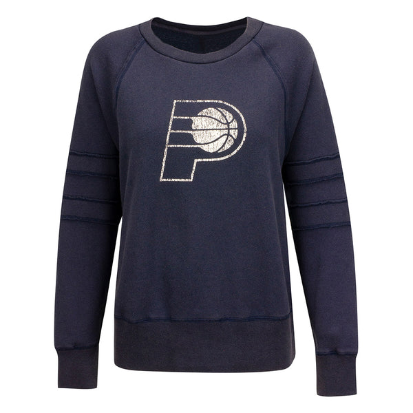 Women's Indiana Pacers Bases Loaded Crew Neck Fleece