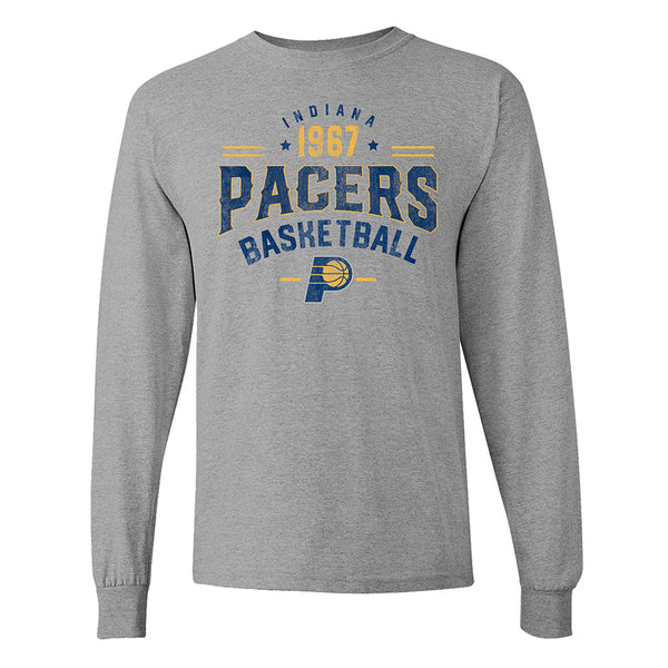 Indiana Pacers Big Man Long Sleeve T-Shirt