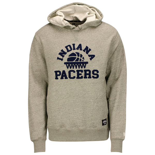 Indiana Pacers New Era Long Loop French Terry Hooded Fleece
