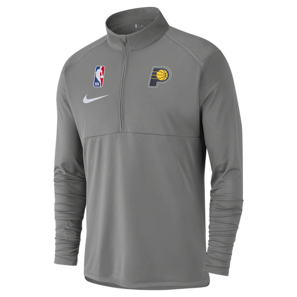 Indiana Pacers Nike 19-20 1/4 Zip Element Performance Top