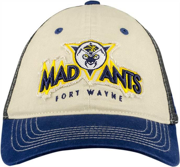 Mad Ants Distressed Patch Meshback Hat
