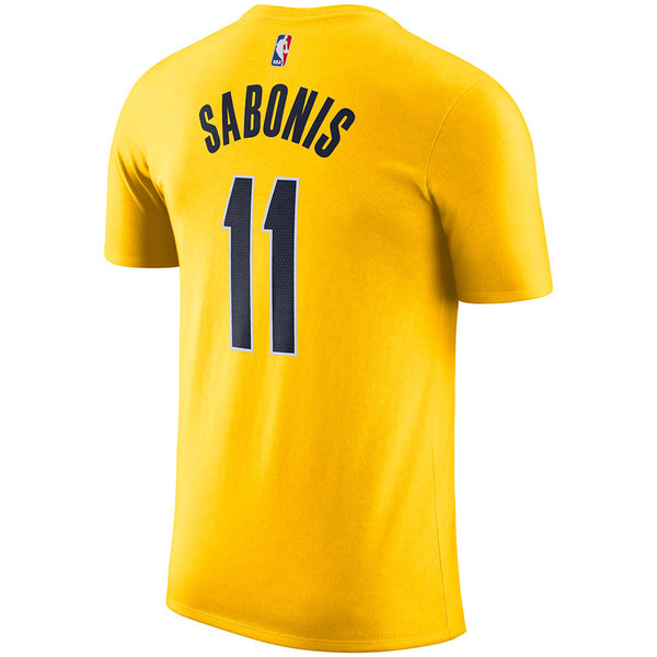 Indiana Pacers Domantas Sabonis 20-21 Jordan Statement Name and Number T-Shirt