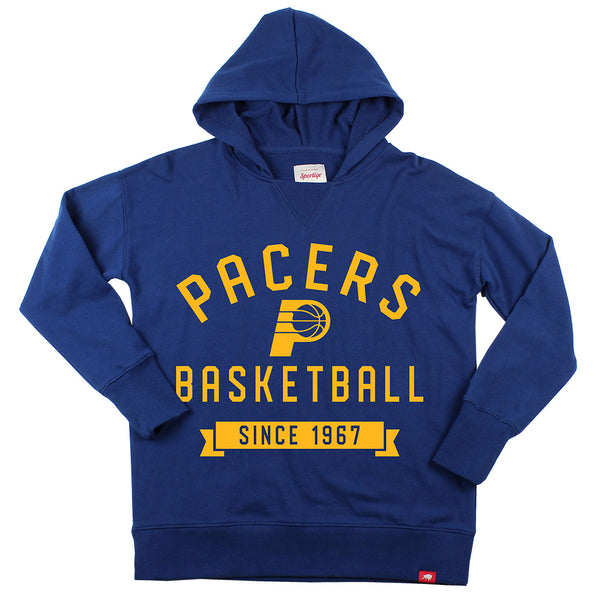 Women's Indiana Pacers Sportique Xavier Hooded Fleece