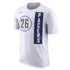 Indiana Pacers Jeremy Lamb Nike City Edition Name and Number T-Shirt