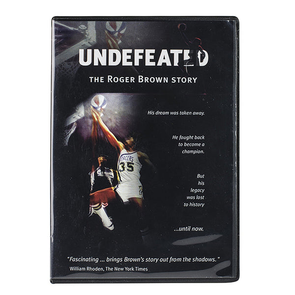 "Roger Brown ""Undefeated"" DVD"