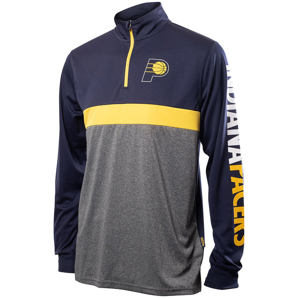 Pacers Shot Caller 1/4 Zip Performance Top