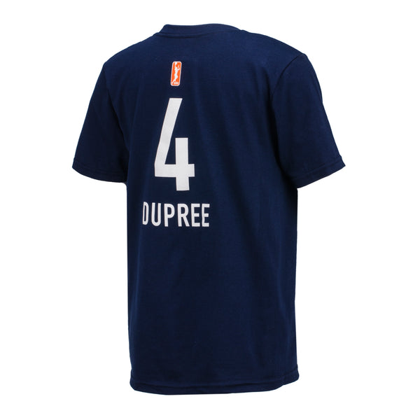 Youth Indiana Fever Dupree Name and Number T-Shirt