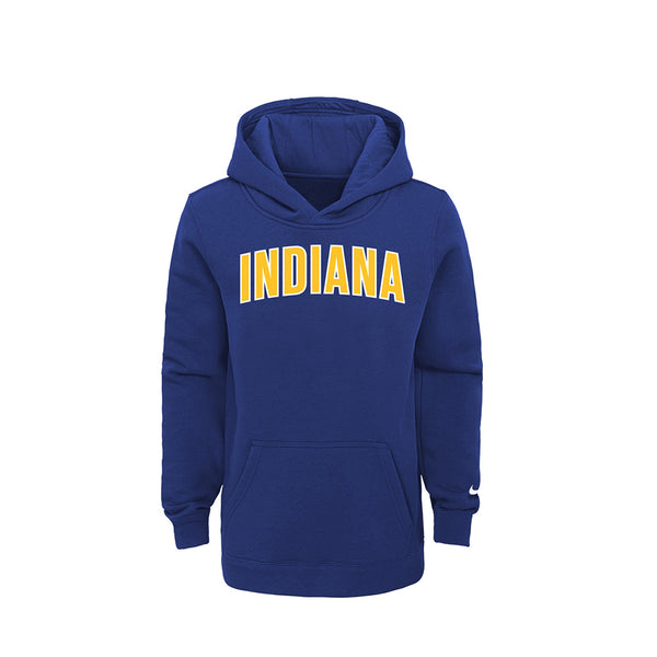 Youth Indiana Pacers 20-21 City Edition Essential Hooded Fleece