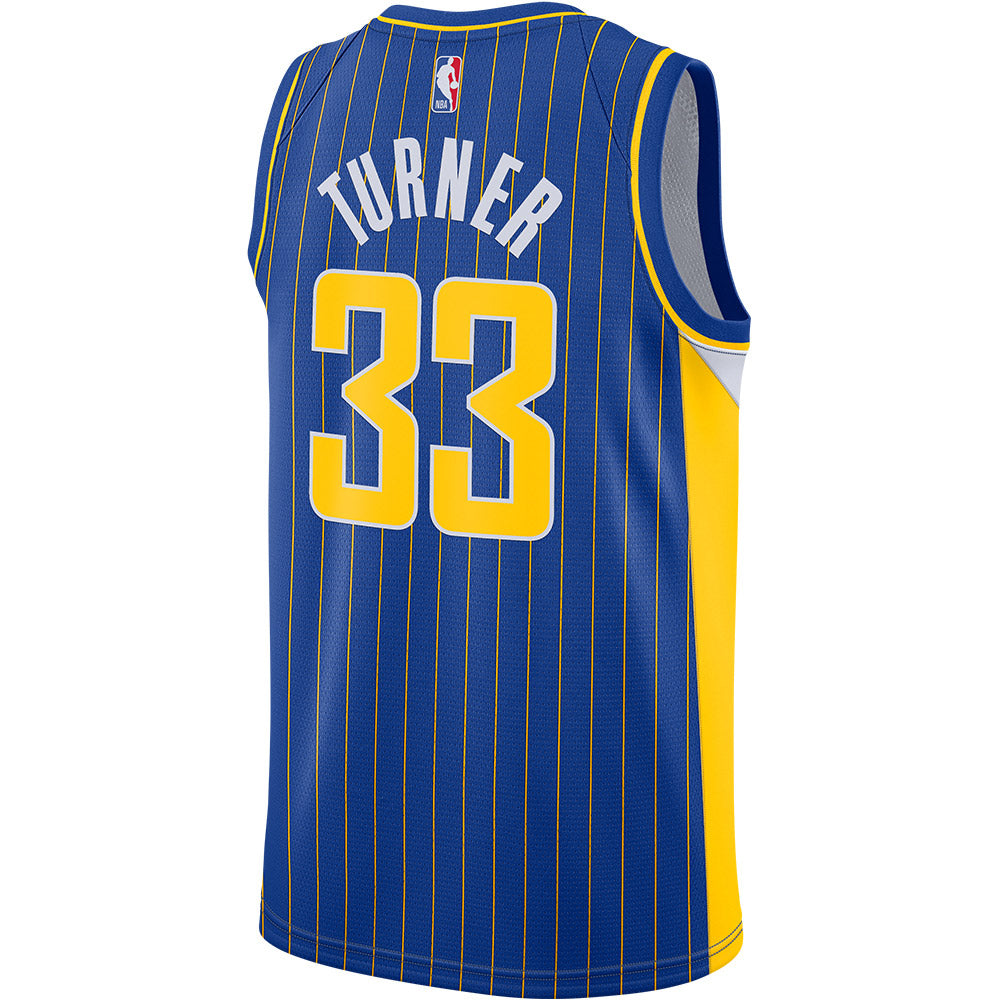 Indiana Pacers Myles Turner 20-21 City Edition Swingman Jersey