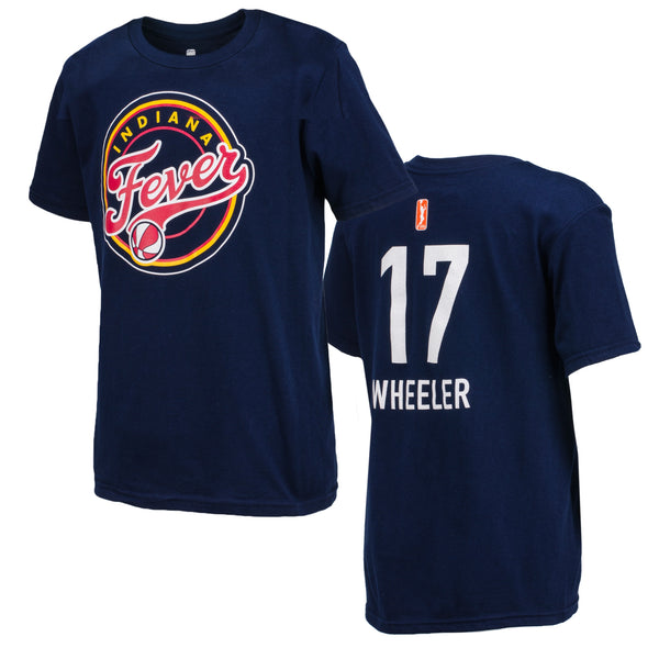 Youth Indiana Fever Wheeler Name and Number T-Shirt