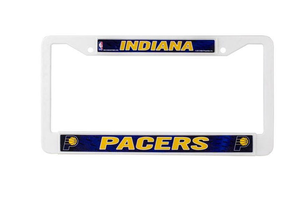 Indiana Pacers Plastic Auto Frame
