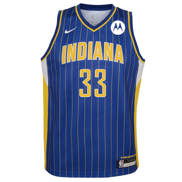 Youth Indiana Pacers Myles Turner 20-21 City Edition Swingman Jersey