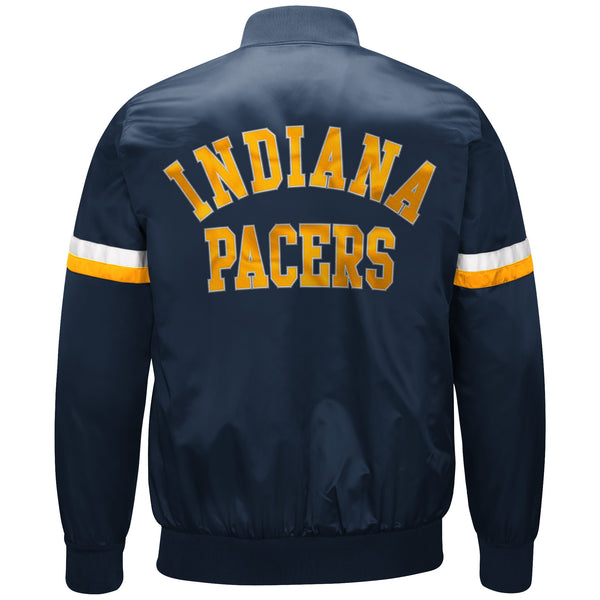 Indiana Pacers Starter the Champ Satin Jacket