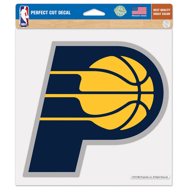 Indiana Pacers Perfect Cut Primary Logo Decal